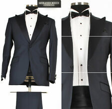 *444* Hochzeitsanzug 7-teiliger Smoking - Herrenanzug Anzug in Dunkel Blau Gr.56