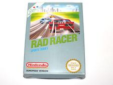 Juego Rad Racer NES Nintendo Nuevo New PAL B