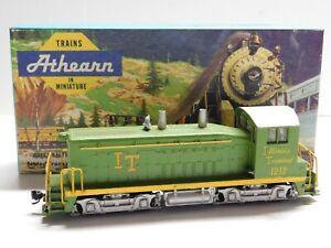 HO Scale - Athearn - Custom Illinois Terminal SW7 DUMMY Diesel Locomotive #1212