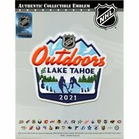 2021 NHL Outdoors At Lake Tahoe Game Logo Jersey Patch