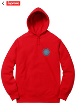 Supreme x Spitfire Hooded Sweatshirt Red Limited Edition SS18 Size XL !!!