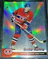 2002-03 Saku Koivu McDonald's Pacific Platinum #21 Montreal Canadiens
