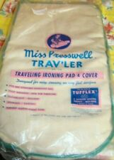 Vintage Trav'ler Miss Presswell Traveling ironing Cover Pad New Old Store Stock