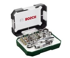 Bosch Screwdriver Bit and Ratchet Set Hands Tools Kit 26 Pieces