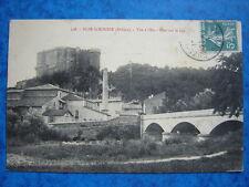 SUZE-la-ROUSSE  :  Pont sur le Lez.....VO.1910.