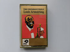 LOUIS ARMSTRONG - The Unforgettable -  cassette tape - 1974 Damont Records