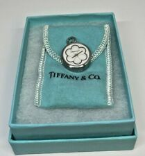 Vintage TIFFANY & CO STAINLESS STEEL WHITE BLOSSOM WATCH W/ Box and Pouch!!