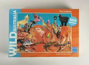 New - Wild Australia The Outback Jigsaw Puzzle 300 Pieces Aussie Fauna Animals