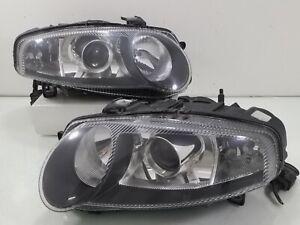 ALFA ROMEO JDM 147 2001-2004 OEM HID XENON Projector BLACK Headlight Lamp Pairs