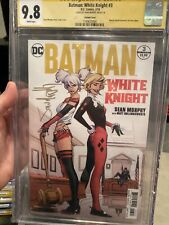 BATMAN WHITE KNIGHT #3 CGC 9.8 SS SEAN MURPHY MARIAN DREWS 1ST NEO JOKER VARIANT