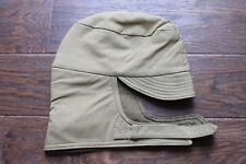 ORIGINAL US ARMY WWII WOOL LINED WINTER CAP COLD WEATHER HAT M41 OD KHAKI