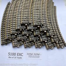 "EE 5100 EXC Marklin HO Standard Curve ""M"" Tracks 20 Pack Excellent Condition"