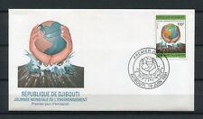 Djibouti 1991 Mi. 556 Terre Environnement FDC Premier Jour