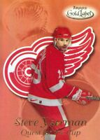 1999-00 Topps Gold Label Quest for Cup #QC1 Steve Yzerman Detroit Red Wings