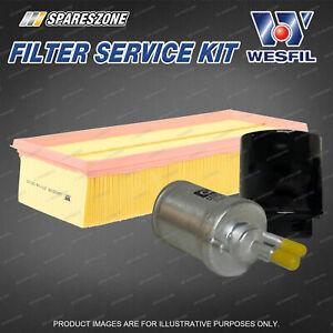 Wesfil Oil Air Fuel Filter Service Kit for Volkswagen Golf VI Jetta 1K 1.4L TSi