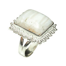 Scolecite Gemstone Handmade 925 Sterling Silver Ring Jewelry 9 Size 8165