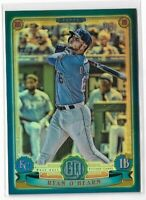 2019 Gypsy Queen baseball blue chrome refractor #146 Ryan O'hearn RC 073/150