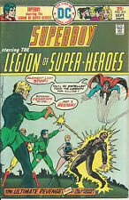 DC Bronze Age : Superboy & the Legion of Super-Heroes #211(Mike Grell)
