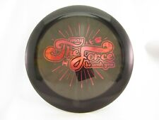 """Le Discraft Z Force Star Wars """"May the Force be with you"""" Black/Pink 174g -New"""