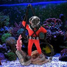 Ecological Aquarium Treasure Hunt Man Underwater Animation Pneumatic Toy Diver