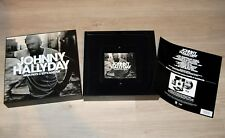 Coffret VIDE Johnny Hallyday mais avec CD Collector - Mon Pays c'est l'amour