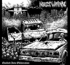 Insect Warfare – Evolved Into Obliteration original first press LP SEALED Black