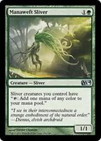 1x MANAWEFT SLIVER - M14 - MTG - Magic the Gathering