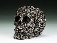Skull Nuts & Screws  Figurine Statue Skeleton Halloween