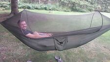 G4Free Portable & Foldable Nylon Hammock Tent With Mosquito Net. Free Shipping