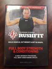 Rushfit Full body  strength & conditioning  approx 100 min 5 round full body