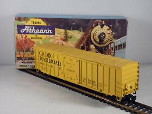 Athearn Cadiz RailRoad 50' Sliding Door Box Car CAD 1039 HO Scale