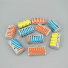 10pcs PCT-218 Colors Compact wire connector conductor terminal block with lever