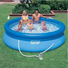 """Intex 10ft x 30"""" Easy Set POOL with FILTER and PUMP. Above Ground Family Pool"""