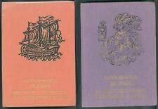 2 Volumes Connaissance du Passé Paris et Perse BEtat