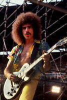 Neal Schon Of Journey At Comiskey Park In Chicago Old Music Photo 3