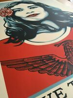 Shepard Fairey (Obey Giant) - We The People - Defend Dignity - 24x36 With COA