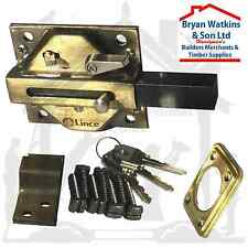 Genuine Lince High Security Heavy Duty Sliding Dead Bolt Lock Weather Resistant