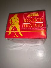 Score 1990 NHL Hockey Rookie & Traded Set Factory Sealed 110 Player Cards New