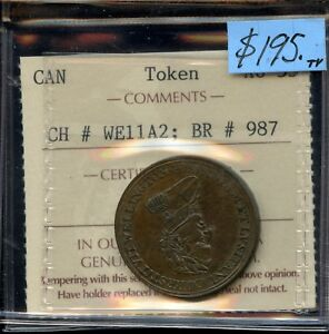 Breton #987 CH-WE11A2 Wellington Token - ICCS AU-55