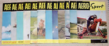 Aero Sport Jahrgang 1961 komplett Zeitschrift Segelflug Flugsport
