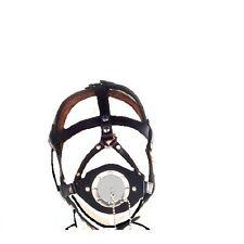 Gimp Fetish Bondage Funnel  Plug Drool Plug Gag Slave Head Harness  g-029