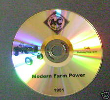 "New Tractor Sales DVD for Allis Chalmers ""CA"" CA AGCO 1951"