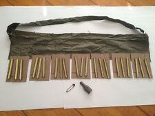 Revised - 223, .223, .5.56 Vietnam Era 7 pocket Bandolier Kit - Complete