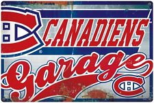 NHL MONTREAL CANADIENS GARAGE SIGN