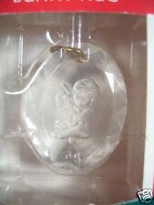 Hallmark Miniature Ornament 1989 Bunny Hug Child & Rabbit Mib Qxm5775