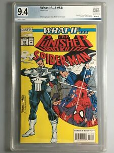What If.... 58 - PGX 9.4 - Punisher,  Spider-Man 129 Iconic Cover Swipe