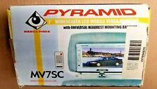 Pyramid MV7SC 7.2-Inch LCD Monitor with Universal Headrest Bracket NEW OPEN BOX
