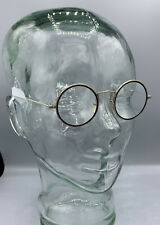 Bausch and Lomb Wire Rim Glasses, 14k White Gold Pads