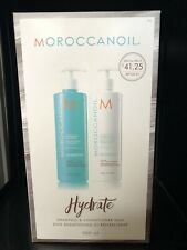 Moroccanoil Hydrate Shampoo & Conditioner 500ml Duo Save 40% RRP £69.40 UK Salon