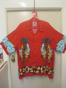 "MAMBO LOUD SHIRT ""CLUB MAMBO' by JIM MITCHELL SIZE XL 2000 VINTAGE"